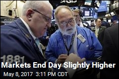 Markets End Day Slightly Higher