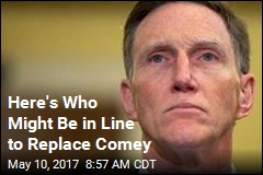 Here's Who Might Be in Line to Replace Comey