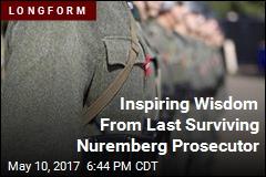 Last Living Nuremberg Prosecutor: 'Sunniest Man' You'll Meet
