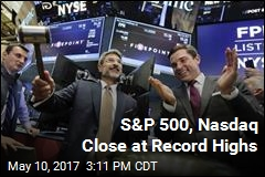 S&P 500, Nasdaq Close at Record Highs