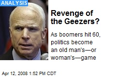 Revenge of the Geezers?