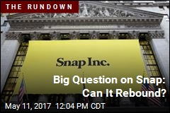Big Question on Snap: Can It Rebound?
