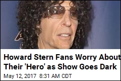 Howard Stern Takes 'Personal Day,' Fans Freak Out