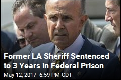 Former LA Sheriff Sentenced to 3 Years in Federal Prison