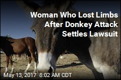 Woman Who Lost Limbs After Donkey Attack Settles Lawsuit