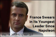 France Swears in Its Youngest Leader Since Napoleon