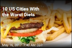 10 US Cities With the Worst Diets
