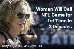 Woman Will Call NFL Game for 1st Time in 30 Years
