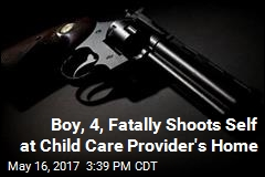 Boy, 4, Fatally Shoots Self at Child Care Provider's Home