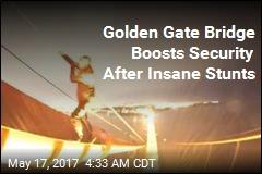 Daredevils Film Illegal Backflips on Golden Gate