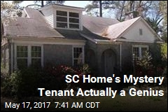 SC Home's Mystery Tenant Actually a Genius