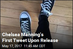 Chelsea Manning's First Tweet Upon Release