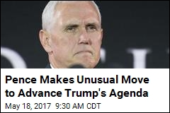 An Unusual Move for a VP: Pence Sets Up a PAC