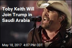 Toby Keith Will Play Men-Only Concert in Saudi Arabia