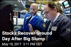 Stocks Recover Ground Day After Big Slump
