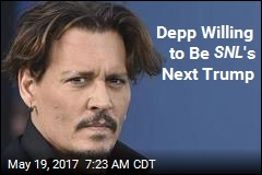 Depp Willing to Be SNL 's Next Trump