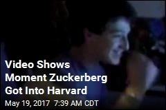 Video Shows Moment Zuckerberg Got Into Harvard