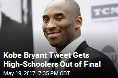 Teen Gets Class Out of Final With Assist From Kobe Bryant