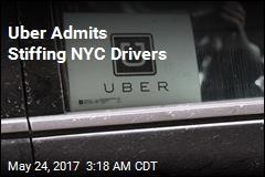 Uber Admits Stiffing NYC Drivers