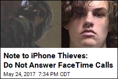 Note to iPhone Thieves: Do Not Answer FaceTime Calls