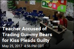 Teacher Accused of Trading Gummy Bears for Kiss Pleads Guilty