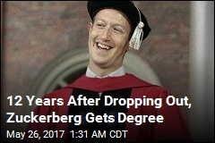 Mark Zuckerberg Finally Gets His Degree