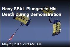 Navy Parachutist Dies During Hudson River Event