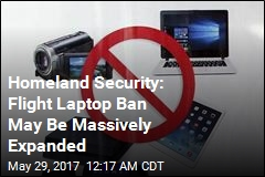 US May Ban Laptops on All International Flights