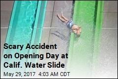 Boy Survives Plunge From Water Slide