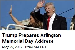 Trump to Deliver Speech at Arlington Cemetery