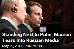 Macron Doesn't Give Putin an Inch