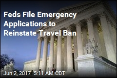 Trump Asks Supreme Court to Revive Travel Ban