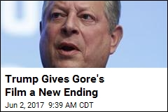 Trump Gives Gore's Film a New Ending