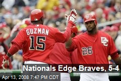Nationals Edge Braves, 5-4