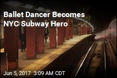 Ballet Dancer Saves Man From Subway Track