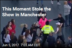 This Moment Stole the Show in Manchester