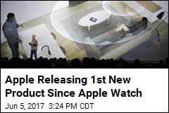 Apple Releasing 1st New Product in More Than 2 Years