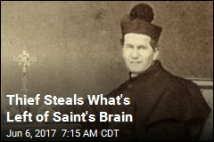 Pieces of Saint's Brain Stolen in Italy