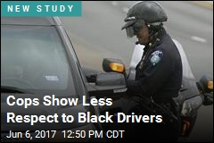 Cops Show More Respect to White Drivers