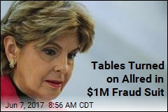Tables Turned on Allred in $1M Fraud Suit