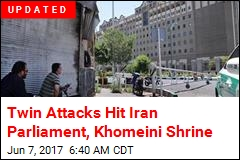 Twin Attacks Hit Iran Parliament, Khomeini Shrine