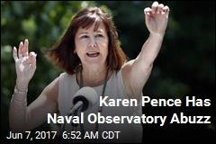 Karen Pence Has Naval Observatory Abuzz