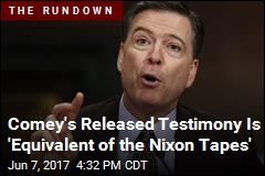 Questions Comey Could Face Based on Released Testimony