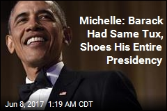 Michelle: Barack Wore the Same Tuxedo for 8 Years