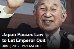 Japan Passes Law to Let Emperor Quit
