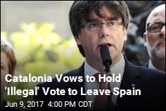 Catalonia Promises October Vote to Leave Spain