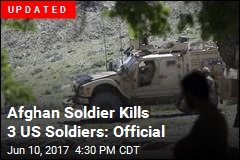 Afghan Soldier Kills 2 US Soldiers: Official