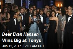 Dear Evan Hansen Wins Big at Tonys