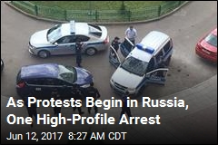 The Question in Russia: How Many Will Protest Today?