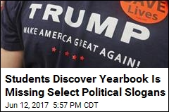 Teacher Suspended After Trump Scrubbed From Yearbook